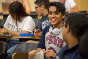 Penn freshman participating in PennCAP program